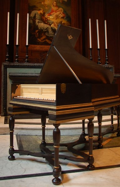 'Bach' Harpsichord after Michael Meitke (Berlin, 1710)